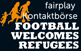 "fairplay Kontaktbörse ""Football Welcomes Refugees"""