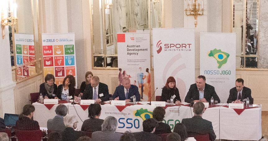 Dialogforum Sport und Menschenrechte im Haus des Sports (März 2016)