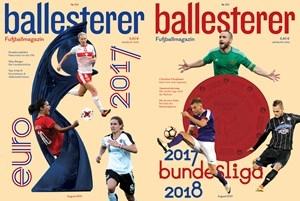 ballesterer 123: Frauen-EM und Bundesliga-Start