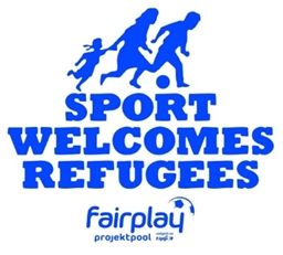 Logo Sport Welcomes Refugees