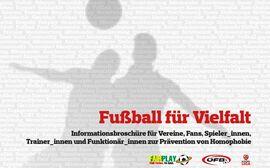 Broschüre Fußball für Vielfalt
