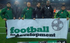 """Bundesliga gegen Hunger""-Aktionstag beim FC Wacker Innsbruck"