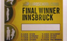 Plakat Euroschools Finale Innsbruck