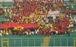 Angola Fans in Kumasi