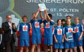 Hauptschule St. Martin gewinnt Euoschool 2008 Cup in St. Pölten.