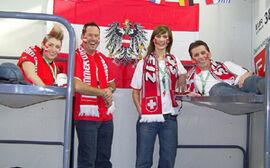 Koje FanCamp Wien