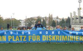 """""""Kein Patz für Diskriminierung"""" bei First Vienna FC"""