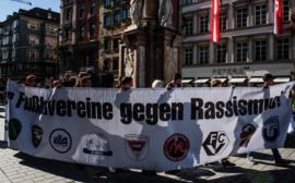 (C) FC Wacker Innsbruck: Innsbrucker Fußballvereine gegen Rassismus