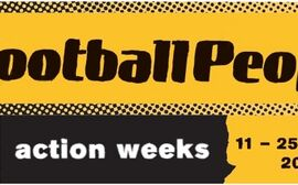 #FootballPeople action weeks 2018