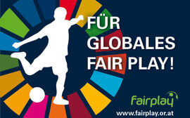 Sticker Für Globales Fair Play!