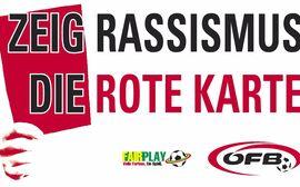 Zeig Rassismus die Rote Karte