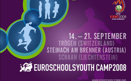 Euroschools Youth Camp 2008 Poster