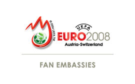 Logo UEFA EURO 2008tm Fan Embassies
